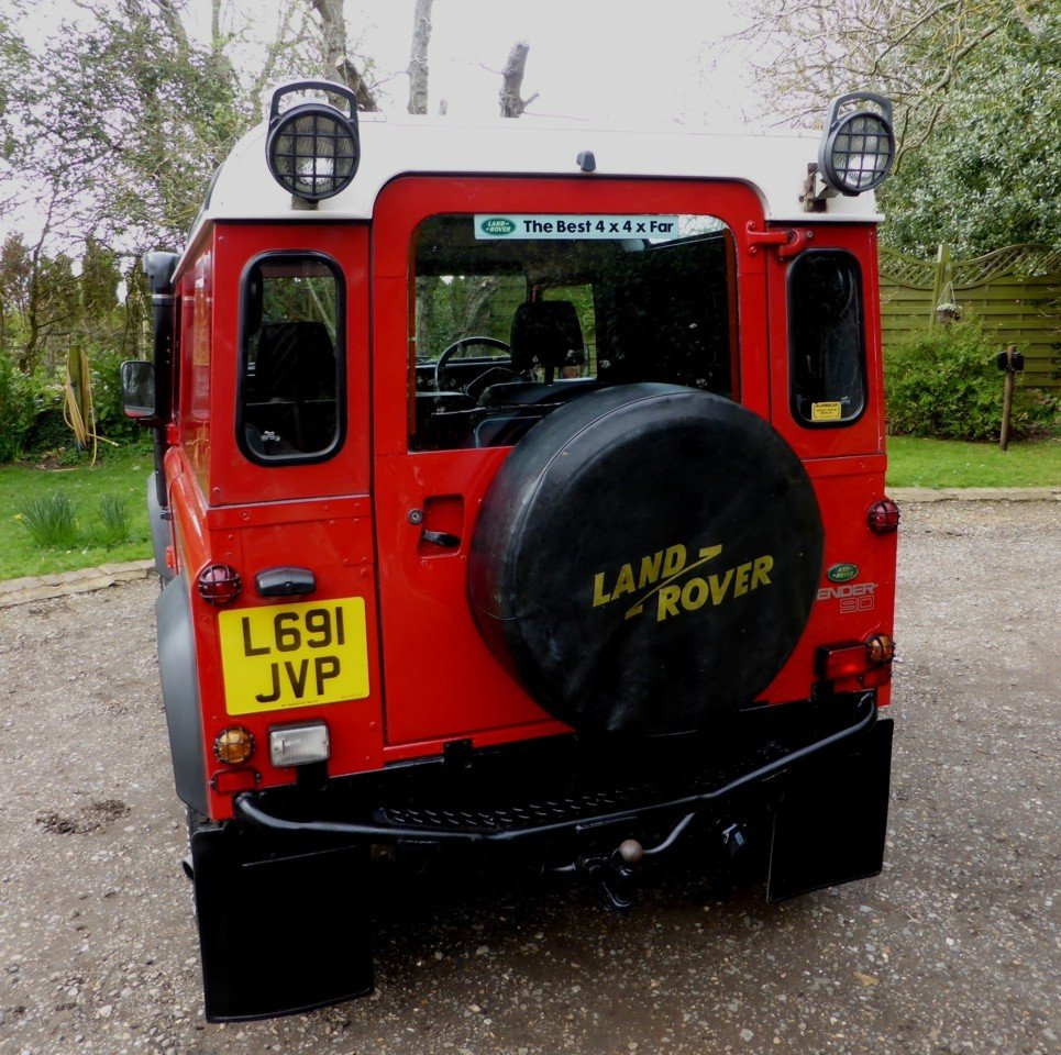 1993 Stunning And Out Standing Defender 90 200 TDi For Sale (picture 3 of 6)