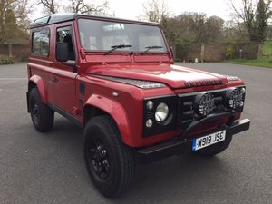 **APRIL AUCTION**2000 Land Rover Defender TD5 SOLD by Auction