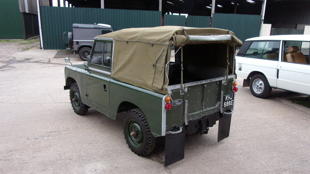 1967 Land Rover S2A 20,000 gen miles time warp. For Sale (picture 1 of 6)