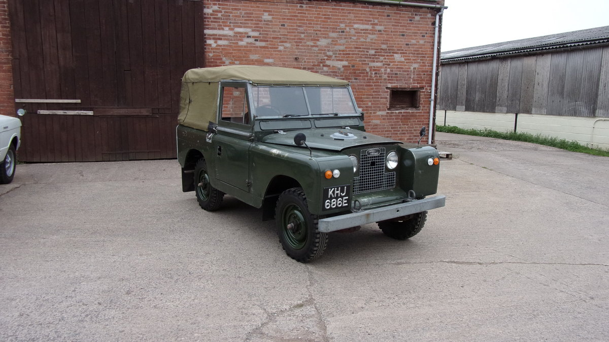 1967 Land Rover S2A 20,000 gen miles time warp. For Sale (picture 2 of 6)