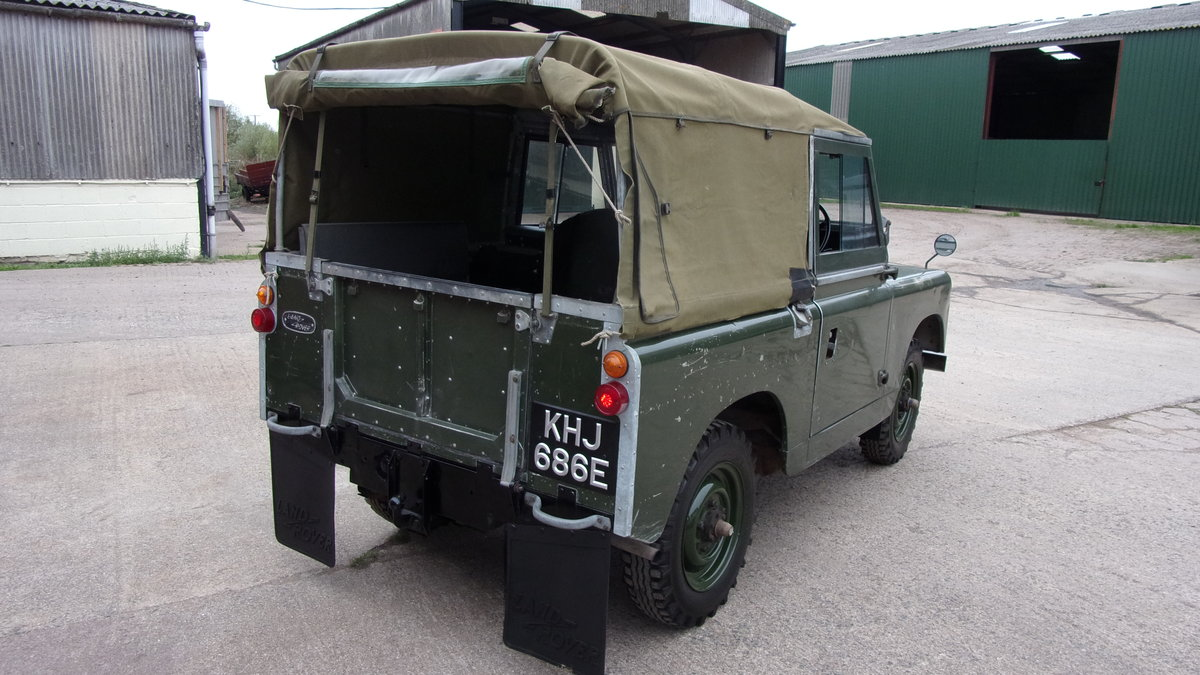 1967 Land Rover S2A 20,000 gen miles time warp. For Sale (picture 3 of 6)