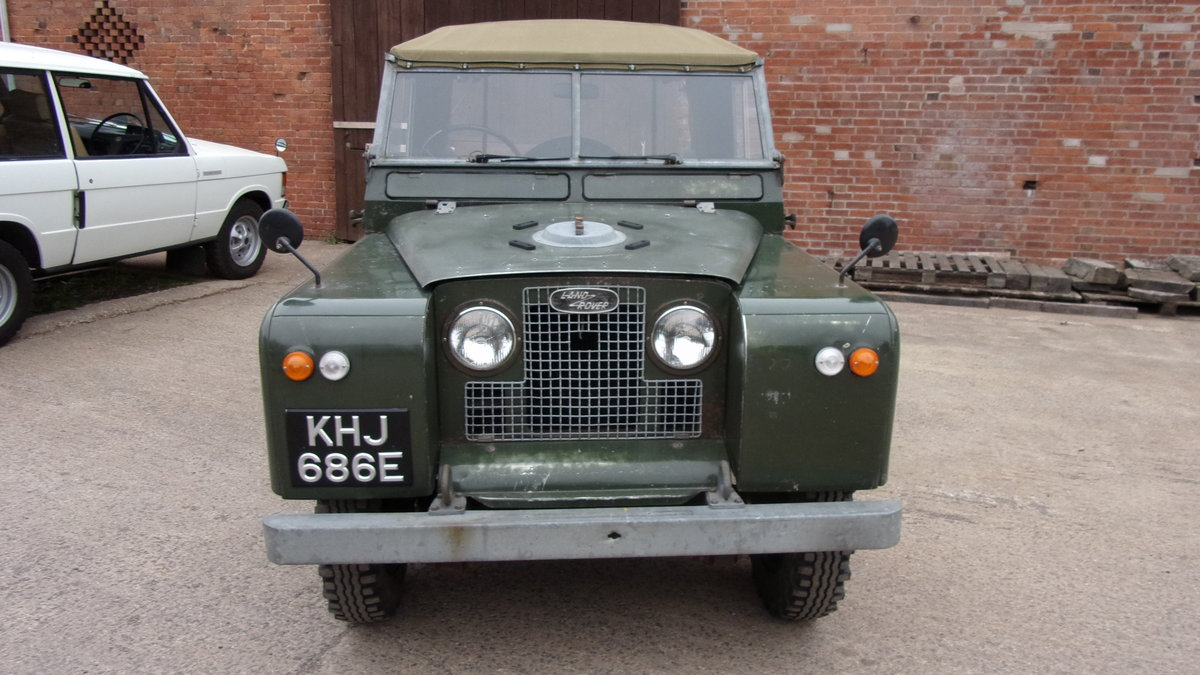 1967 Land Rover S2A 20,000 gen miles time warp. For Sale (picture 6 of 6)