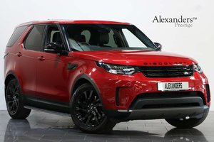 2017 17 LAND ROVER DISCOVERY 5 3.0 TD6 HSE AUTO