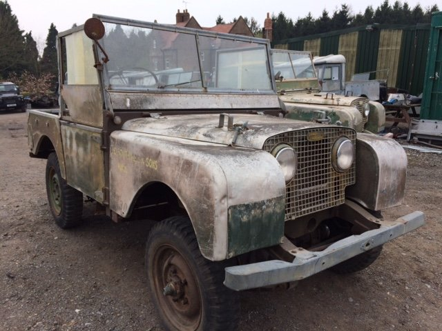 1950 Series 1 80 inch Land Rover - Rust Free, 1.6 Petrol For Sale (picture 1 of 6)