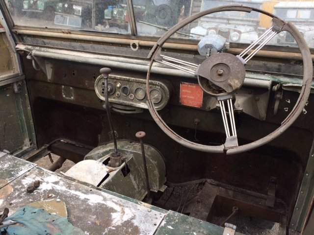1950 Series 1 80 inch Land Rover - Rust Free, 1.6 Petrol For Sale (picture 3 of 6)