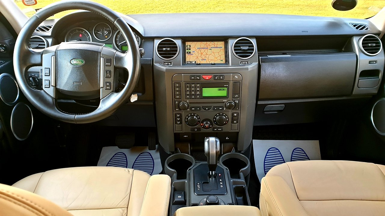 2005 LHD Land Rover Discovery 3 2.7 SE, 7 Seats, LEFT HAND DRIVE For Sale (picture 4 of 6)