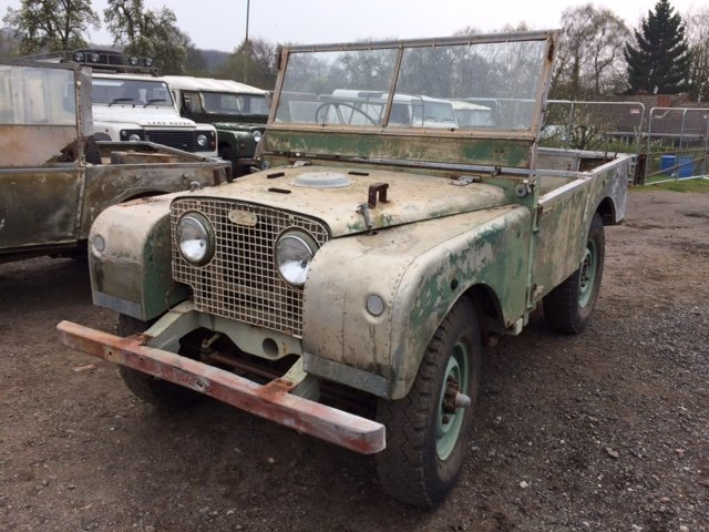 1951 Series 1 80 inch Land Rover - Lights Through The Grill  For Sale (picture 1 of 6)