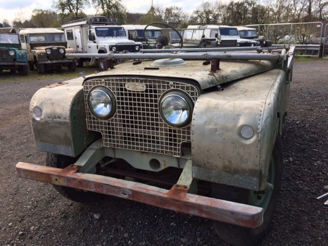 1951 Series 1 80 inch Land Rover - Lights Through The Grill  For Sale (picture 3 of 6)