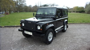 2003 Land Rover Defender 90 td5 genuine county S/w For Sale