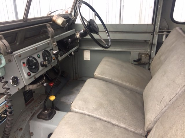 RARE LAND ROVER FIRE TRUCK SERIES 11A 1964 3500 MILES  SOLD (picture 2 of 6)