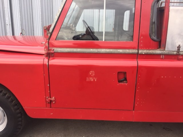 RARE LAND ROVER FIRE TRUCK SERIES 11A 1964 3500 MILES  SOLD (picture 5 of 6)