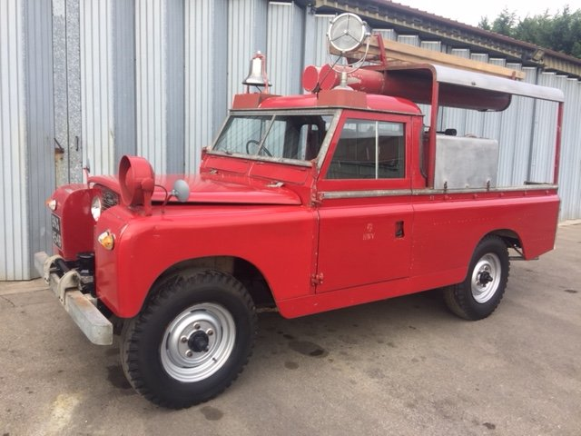 RARE LAND ROVER FIRE TRUCK SERIES 11A 1964 3500 MILES  SOLD (picture 6 of 6)