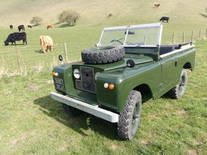 1963 Land Rover Series 2a SWB Petrol For Sale