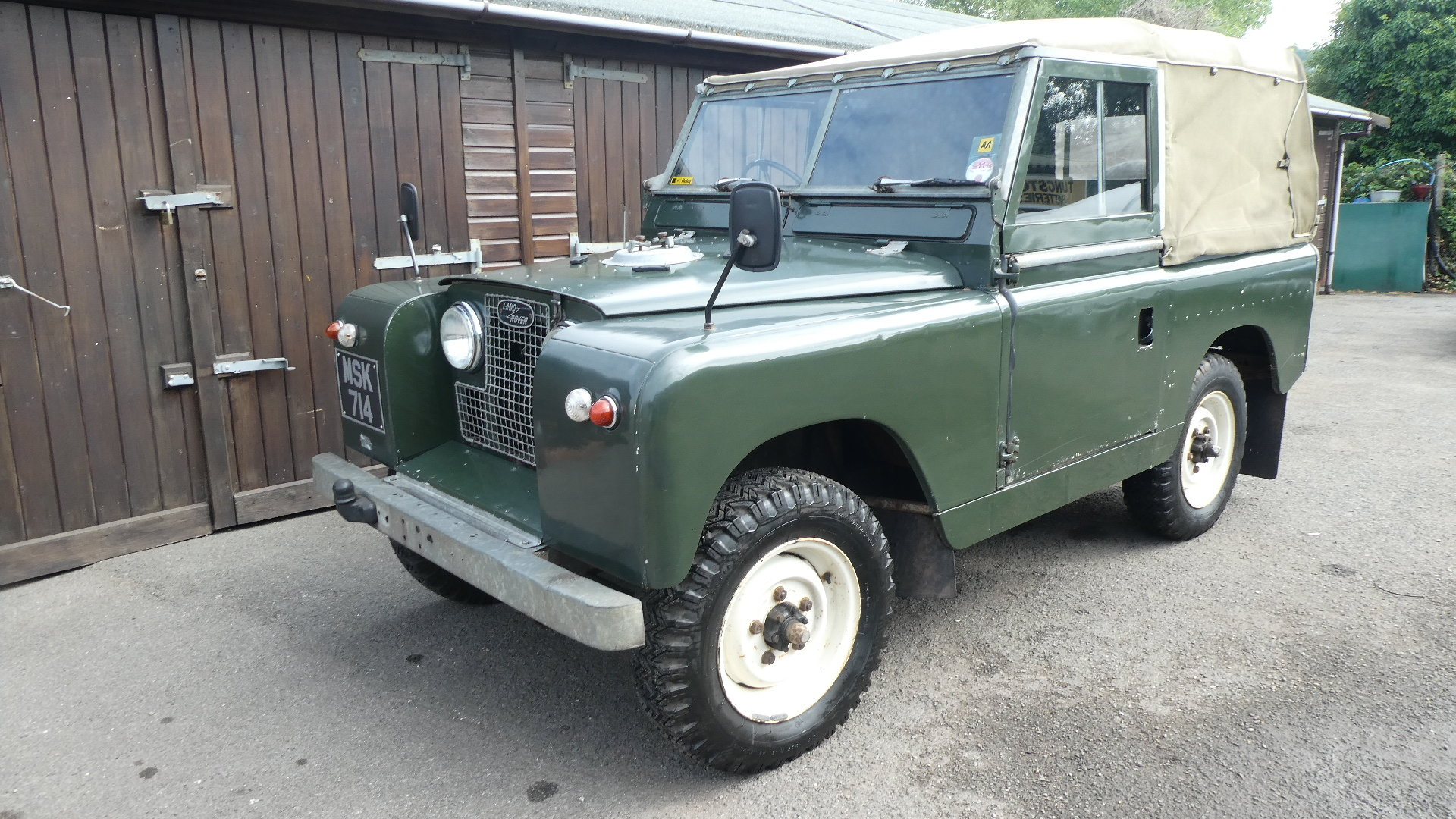 1958 Land Rover Series 2  model 88 For Sale (picture 1 of 6)