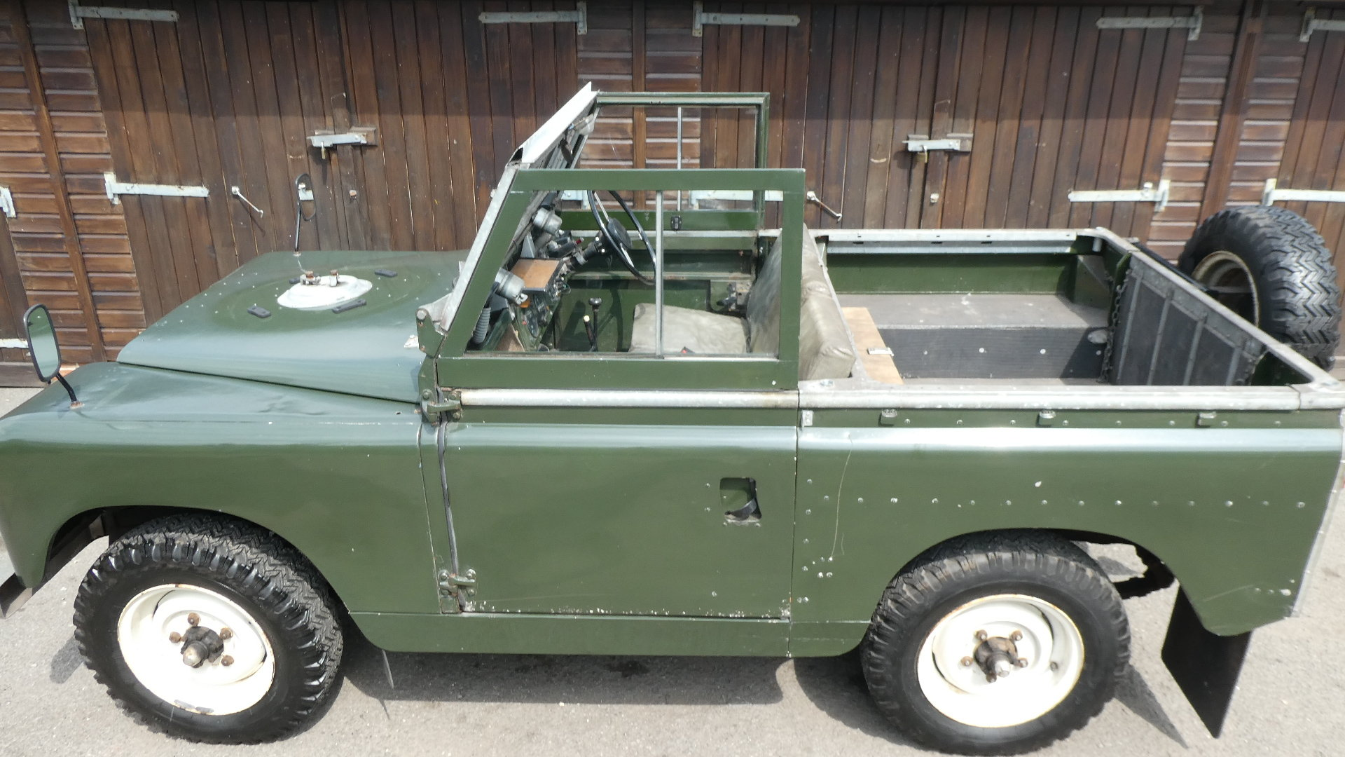 1958 Land Rover Series 2  model 88 For Sale (picture 3 of 6)