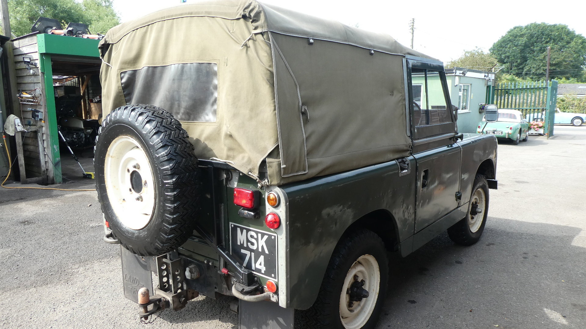 1958 Land Rover Series 2  model 88 For Sale (picture 4 of 6)