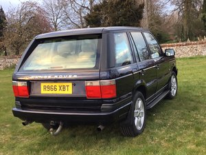 1998 P38 Range Rover with lpg For Sale
