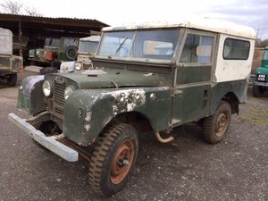 1955 Series 1 86 inch Hardtop with Original 2 Litre For Sale