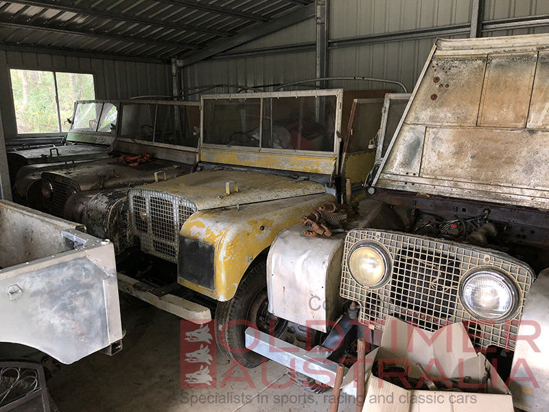Classic Land Rovers Collection - 11 x Early Series 1 80 For Sale (picture 1 of 6)