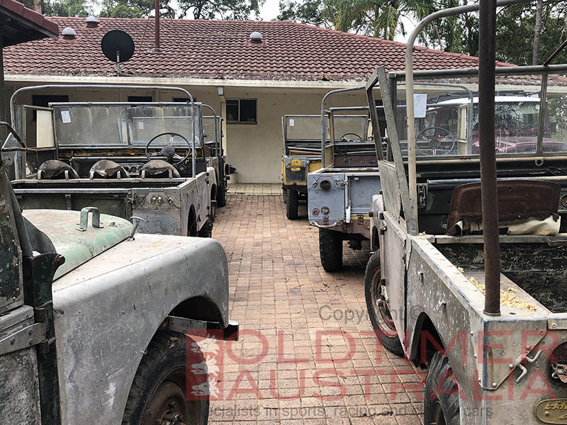Classic Land Rovers Collection - 11 x Early Series 1 80 For Sale (picture 5 of 6)