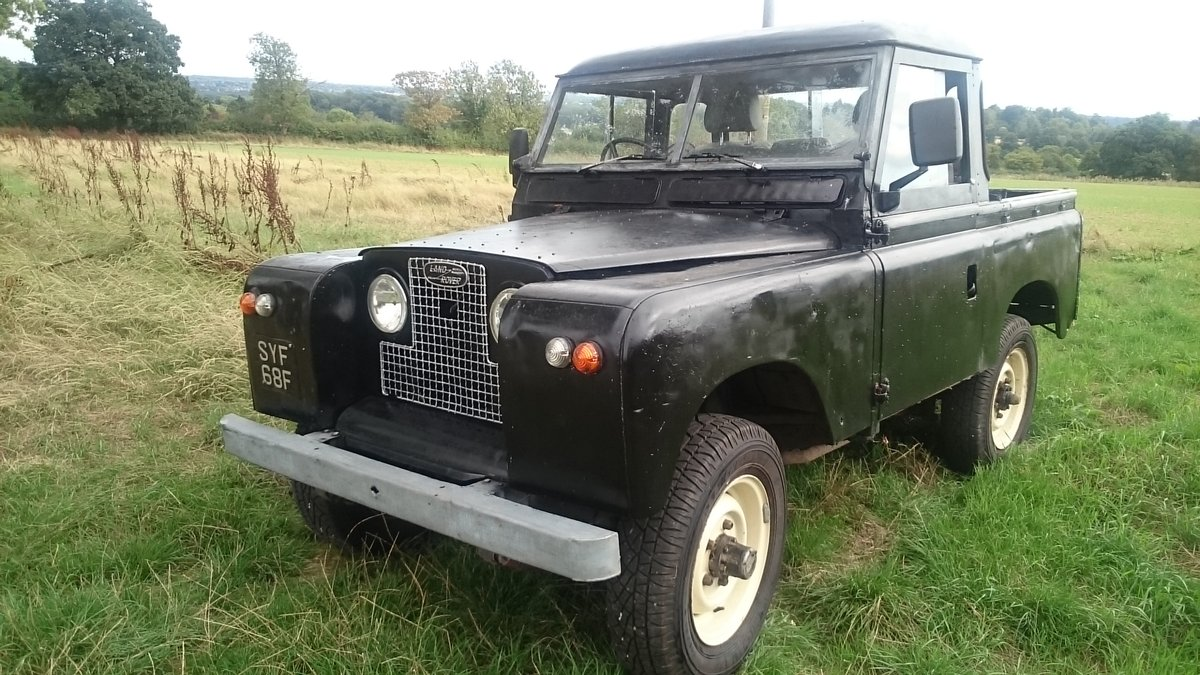 1968 Truck cab Series Ii Land Rover For Sale (picture 1 of 6)