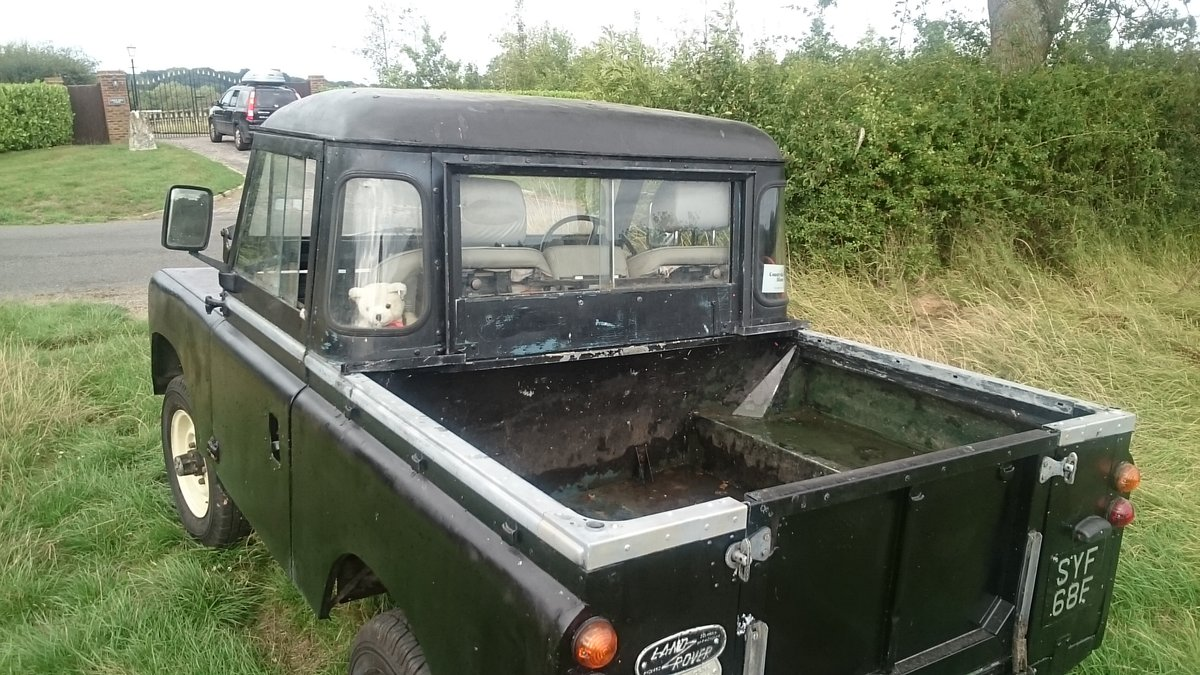 1968 Truck cab Series Ii Land Rover For Sale (picture 5 of 6)