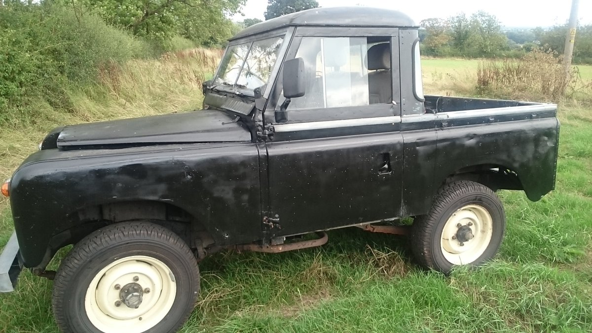 1968 Truck cab Series Ii Land Rover For Sale (picture 6 of 6)