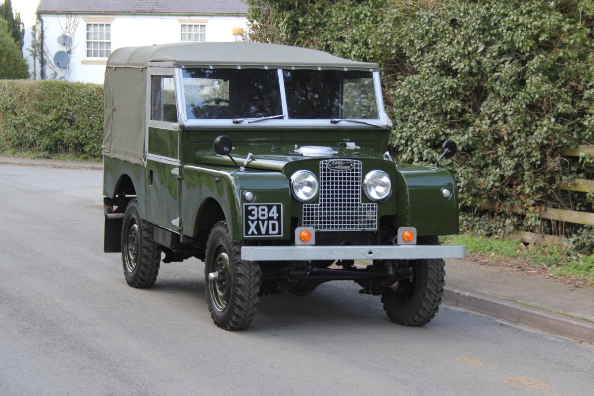 1954 Land Rover Series I - Exceptional Restoration For Sale (picture 1 of 12)