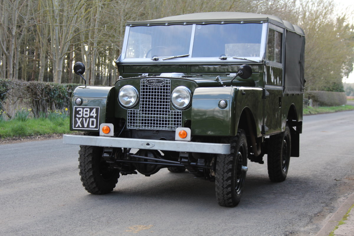 1954 Land Rover Series I - Exceptional Restoration For Sale (picture 3 of 12)