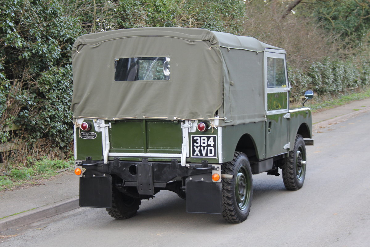 1954 Land Rover Series I - Exceptional Restoration For Sale (picture 5 of 12)