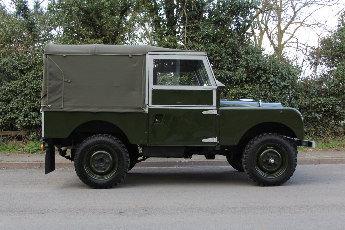 1954 Land Rover Series I - Exceptional Restoration For Sale (picture 6 of 12)