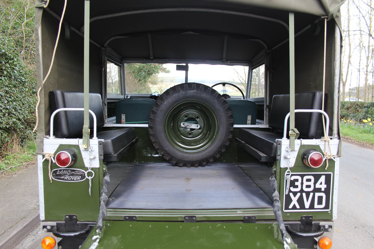 1954 Land Rover Series I - Exceptional Restoration For Sale (picture 10 of 12)