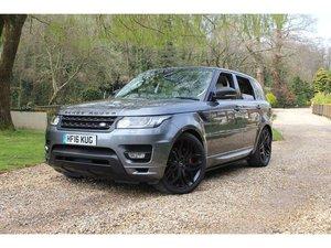 2016 Land Rover Range Rover Sport 5.0 V8 Supercharged Autobiograp For Sale