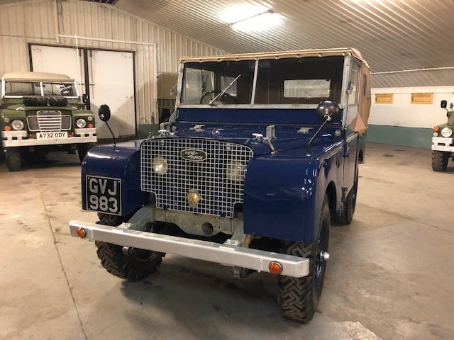 1949 Land Rover® Series 1 80 For Sale (picture 2 of 6)