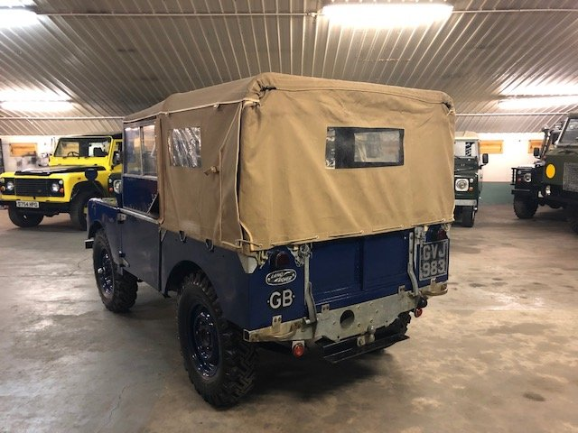 1949 Land Rover® Series 1 80 For Sale (picture 4 of 6)