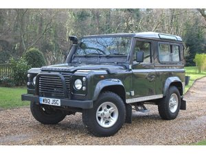 2000 Land Rover Defender 90 2.5 TD5 County 3dr GREAT VALUE DEFEND