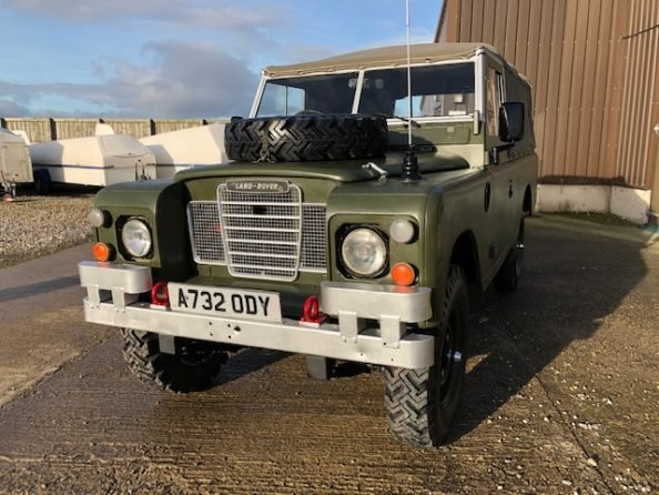 1984 Land Rover ® Series 3 109 *Ex-Military 11 Seater* (ODY) SOLD (picture 1 of 6)