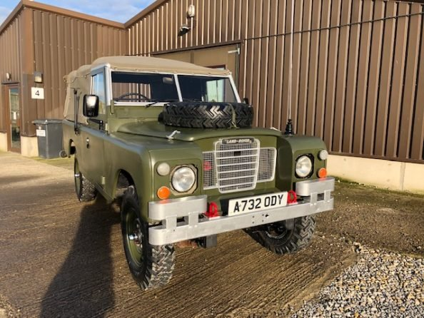 1984 Land Rover ® Series 3 109 *Ex-Military 11 Seater* (ODY) SOLD (picture 2 of 6)