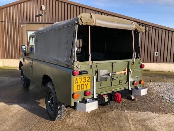 1984 Land Rover ® Series 3 109 *Ex-Military 11 Seater* (ODY) SOLD (picture 3 of 6)