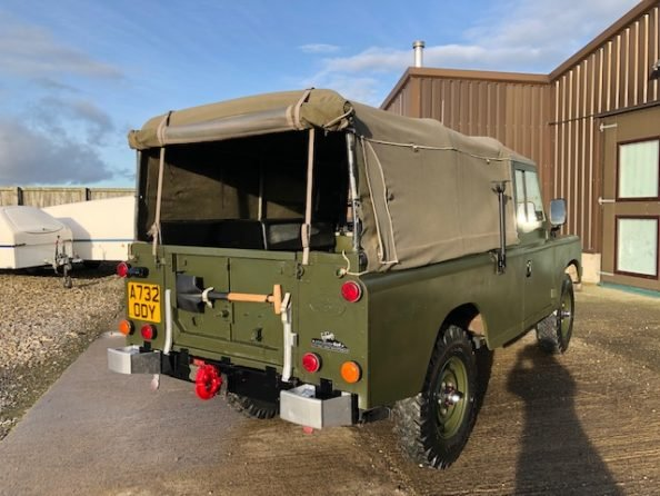 1984 Land Rover ® Series 3 109 *Ex-Military 11 Seater* (ODY) SOLD (picture 4 of 6)