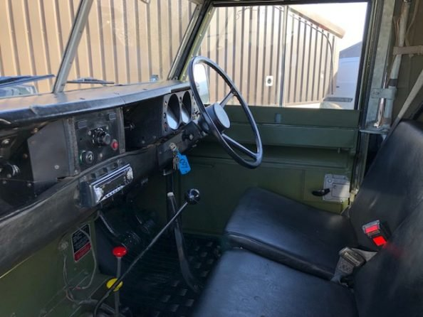 1984 Land Rover ® Series 3 109 *Ex-Military 11 Seater* (ODY) SOLD (picture 5 of 6)