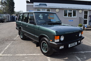 1992 Range Rover Classic 3.9i - just 36000 miles from New! For Sale