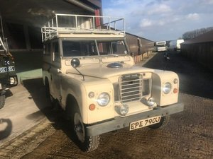 1971 Land Rover ® Series 2a *Rare Searle SWB Camper!* (EPE) For Sale