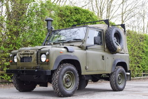 1999 Land Rover Wolf Defender & Penman Trailer For Sale by Auction