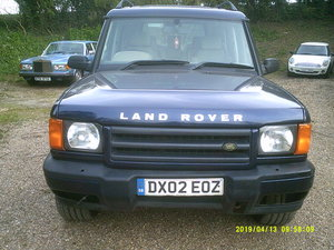 2002 SOUND DRIVER THIS OLD DISCO 2 AUTOMATAIC WITH A MOT