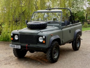 1991 Ex MOD Land Rover 90 Soft Top For Sale