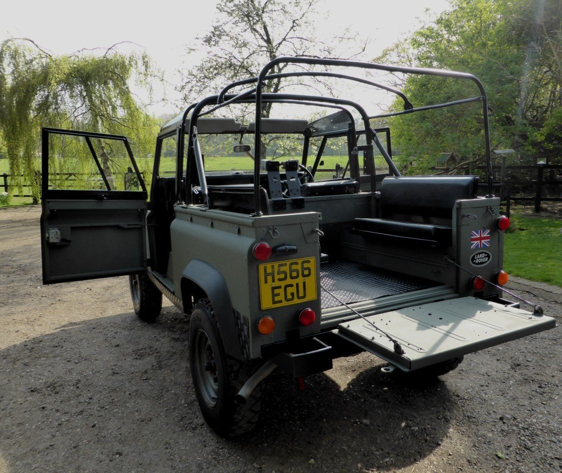 1991 Ex MOD Land Rover 90 Soft Top SOLD (picture 3 of 6)