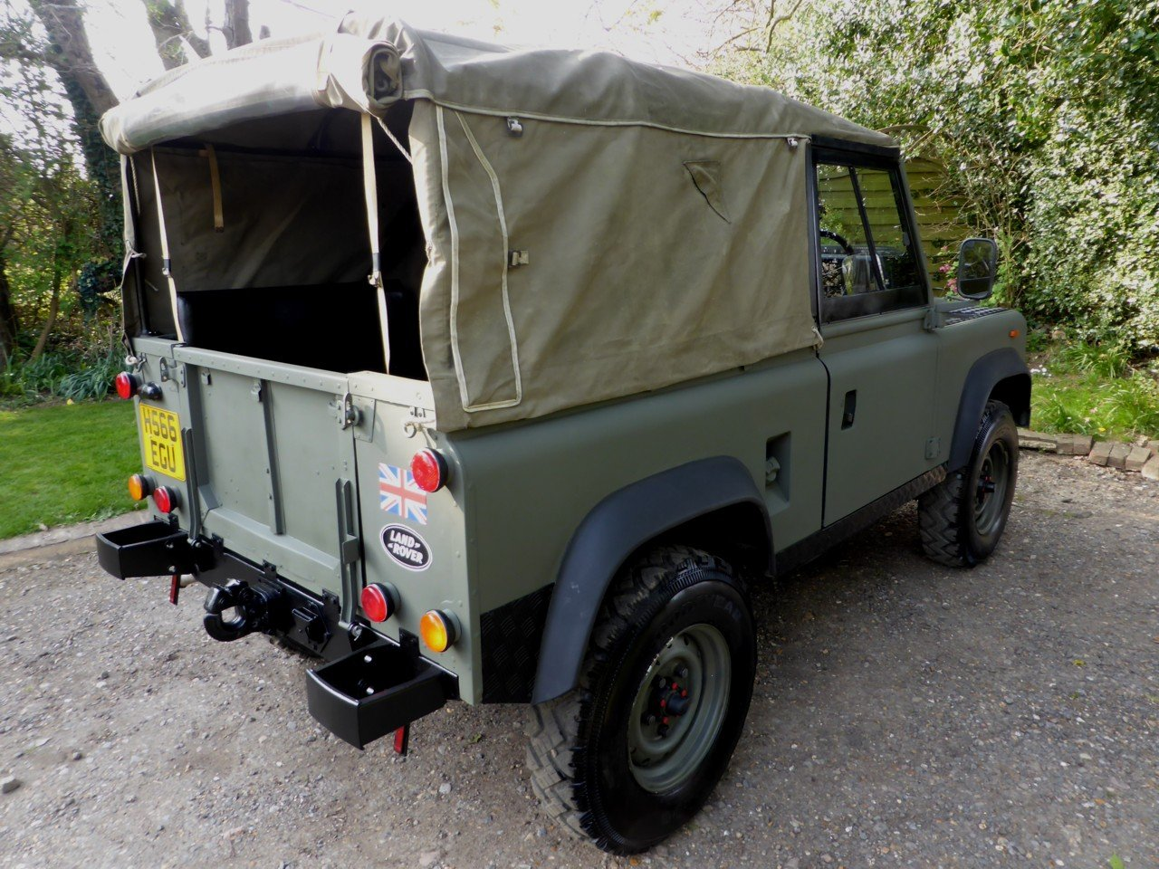 1991 Ex MOD Land Rover 90 Soft Top SOLD (picture 5 of 6)