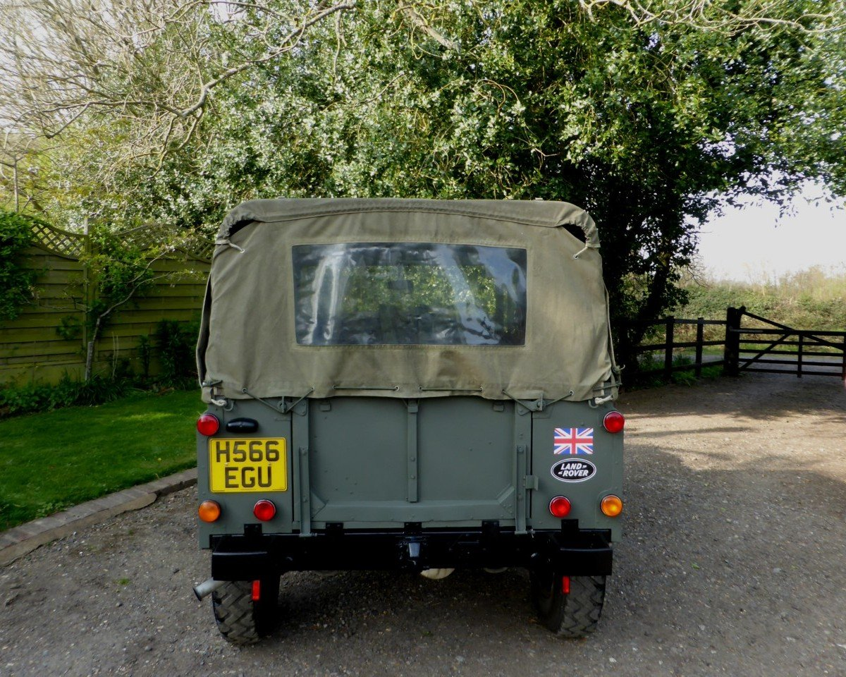 1991 Ex MOD Land Rover 90 Soft Top SOLD (picture 6 of 6)