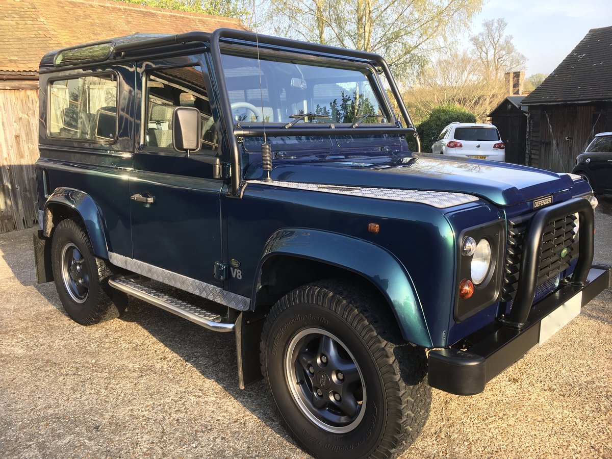 1998 Land Rover Defender V8 50th Anniversary - Restored For Sale (picture 2 of 6)